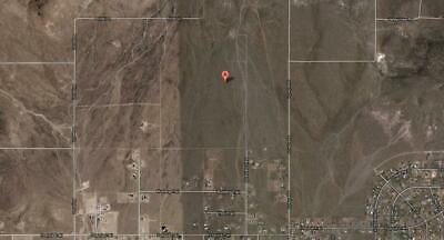 20 Acres of Vacant Land in Silver Springs Lyon County Nevada
