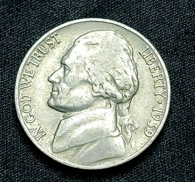 1939 P Jefferson Nickel, Circulated, Free Ship!, Buy 5+ Items, Get 10% Off