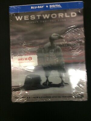 NEW WESTWORLD SEASON 2 THE DOOR BLU RAY TARGET EXCLUSIVE LENTICULAR DIGIPACK
