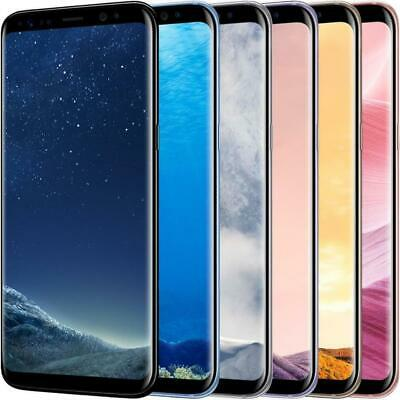 GSM UNLOCKED Samsung Galaxy S8 64GB SM-G950U LTE International All Colors