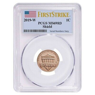 2019 W Uncirculated Lincoln Penny Cent Comm- PCGS MS 69 FS