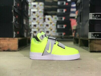 Nike Air Force 1 Utility Mens Low Top Shoe GreenWhite AO1531 700 NEW All Sizes
