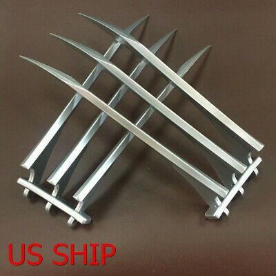 USA - 1 Pair X-men Wolverine Claws Logan Paws 11 Cosplay Props ABS Plastic Gift