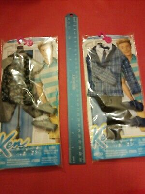 Mattel Ken Doll Set Of 2 Outfits NIP 10 SETS OF 2 OUTFITS AVAILABLE