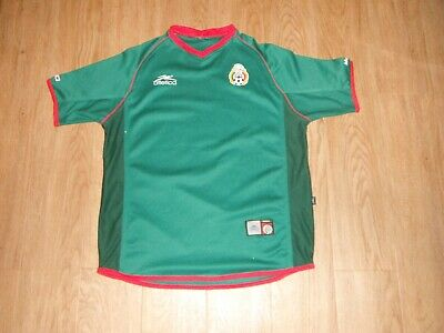 Vintage MEXICO National Team ATLETICA Jersey Adult MEDIUM World Cup FIFA