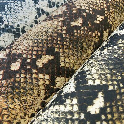 Snakeskin Print Polyester Fabric 5456 Wide 100 Polyester Sold By The Yard