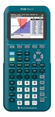 Texas Instruments TI-84 Plus CE Handheld Graphing Calculator Teal