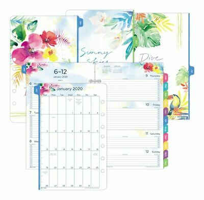 Day-Timer Kathy Davis Weekly Appointment BookPlanner Refill Size 4 2020