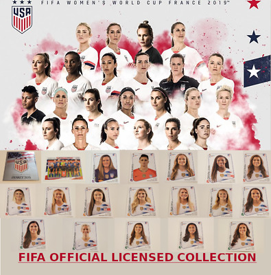 USA NATIONAL TEAM - PICK ANY - FIFA WOMENS WORLD CUP FRANCE 2019 PANINI