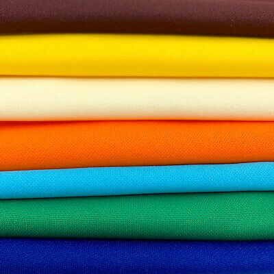 Scuba Double Knit Fabric 100 Polyester 5860 inches Wide Sold By The Yard