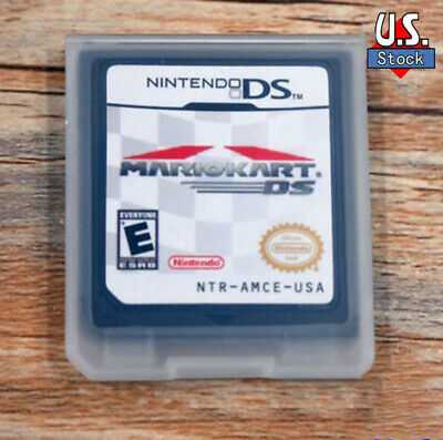 Mario Kart DS Nintendo Game Card Version Only For DSDSi3DS XL2DS US Version