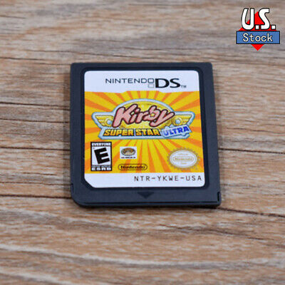 NEW Kirby Super Star Ultra version Game Card for Nintendo 3DS NDSI NDS NDSL US
