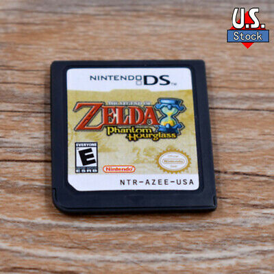 The Legend of Zelda Phantom Hourglass version Game Card for DS DSi 3DS XL 2DS US