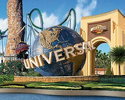 2 E-Tickets to either Universal Studios Orlando OR Islands of Adventure