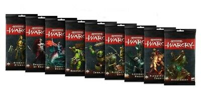 Warcry Faction Card Pack - Warhammer Age of Sigmar PRESALE SHIPS 83