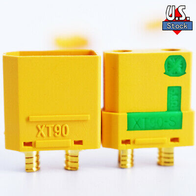 Amass XT90 XT90-S Connector Male-Female FPV Drone Battery Connector for RC Power