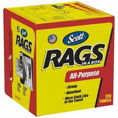 Scott® Rags In A Box Box Of 200 Rags