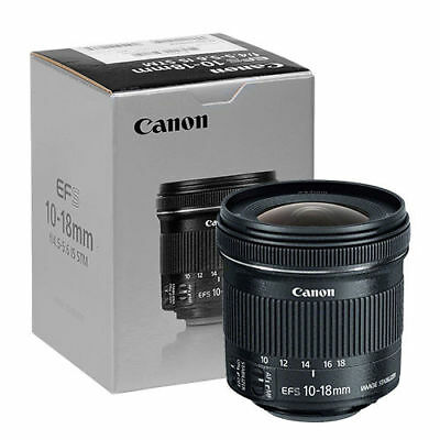 Canon EF-S 10-18mm f4-5-5-6 IS STM Lens - 9519B002 - Brand New