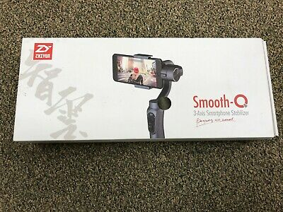 Zhiyun Smooth-Q 3-Axis Handheld Gimbal Stabilizer for Smartphone Jet Black