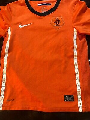 Nike Holland KNVB Netherlands Soccer Jersey Youth Small World Cup