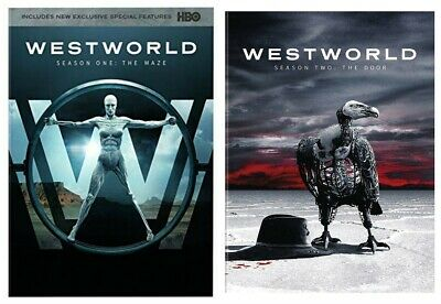 WestWorld Complete Series 1st and 2nd seasons 1 - 2 DVD NEW SEALED