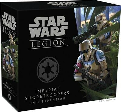 Imperial Shoretroopers Unit Expansion Star Wars Legion NIB FFG