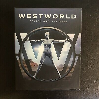 Westworld Season One The Maze Blu-Ray Digipack