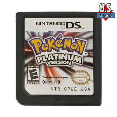 Brand New Pokemon Platinum Version Game Card for DS 23DS NDSI NDS NDSL Lite US