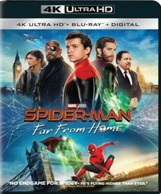 SPIDERMAN-FAR FROM HOME 4K UHD Disc BRAND NEW Factory Sealed READ DETAILS