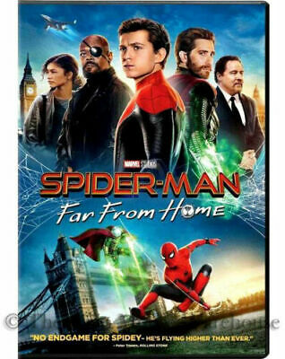 SPIDERMAN-FAR FROM HOME- DVD - Brand New Factory Sealed SHIPS 920