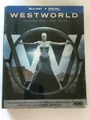 NEW Westworld The Complete First Season Blu-ray Disc 2017