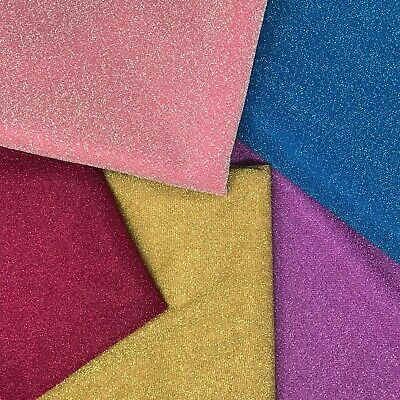 Metallic Lurex Jersey Knit Fabric Shiny 58 Wide Sold By The Yard Many Colors