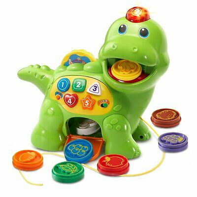 VTech Count - Chomp Dino Dinosaur Learning Toy for 1 Year Olds NEW