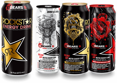 Gears of War 5 Rockstar Can 5 CODE ONLY Promotion Starts September 1st