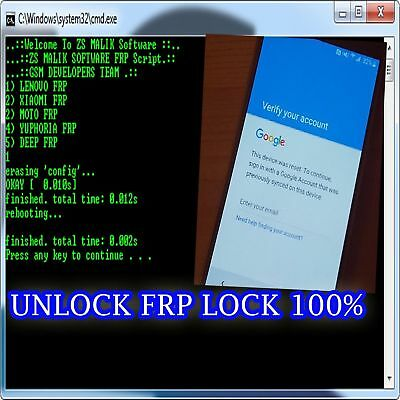 FAST Remote Google Account RemovalReset FRP For  ALL ANDROID MODEL