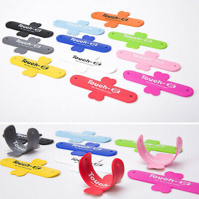 Mobile Phone Bracket Smartphone Touch U Silicone Stand Holder for iPhone Samsung