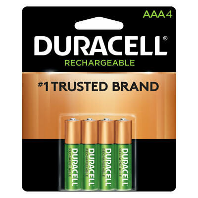Duracell NiMH Rechargeable AAA Batteries Pack Of 4