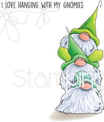 Stamping Bella Cling Stamps Gnome Pile 666307906591