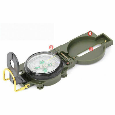 Compass Lensatic Versatile Military Camping Hiking Survival Outdoor Activity US