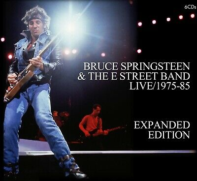 Bruce Springsteen Live 1975-85 Expanded Edition 6-CD Born In The USA The River