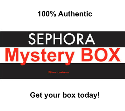 Authentic Sealed Makeup - Beauty Box Sephora Too Faced - etc- 25 50