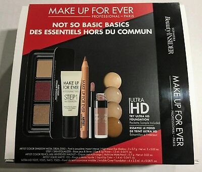 Sephora Beauty InsiderMAKE UP FOR EVERNot So Basic Basics 5pc Set