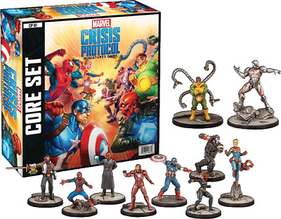 Marvel Crisis Protocol - Core Set Asmodee FACTORY NEW SEALED Atomic Mass Games