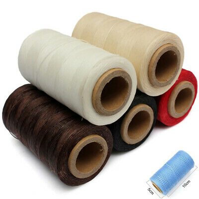 260M 1MM 150D Leather Waxed Cord for DIY Handicraft Tool Hand Stitching Thread P