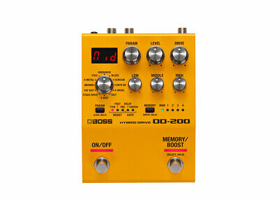 Boss OD-200 Hybrid Drive Pedal GENTLY USED