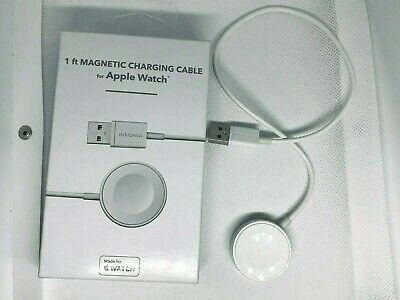 Insignia Apple MFI Certified 1 Magnetic Charging Cable for Apple Watch - White