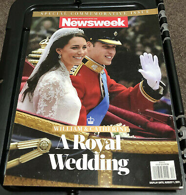 Newsweek Magazine Kate Middleton Prince William Royal Wedding Queen Elizabeth