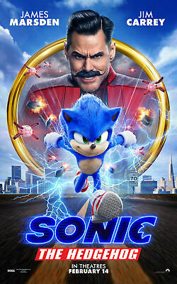 Sonic the Hedgehog  11 x 17  Movie Collectors Poster Print -T2  B2G1F