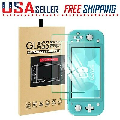 For Nintendo Switch LITE Screen Protector Tempered Glass Anti-Scratch 2 Pack