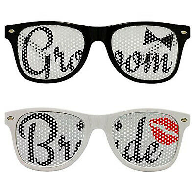 Wedding Bride and Groom glasses Set Gift Sunglasses pair New Party